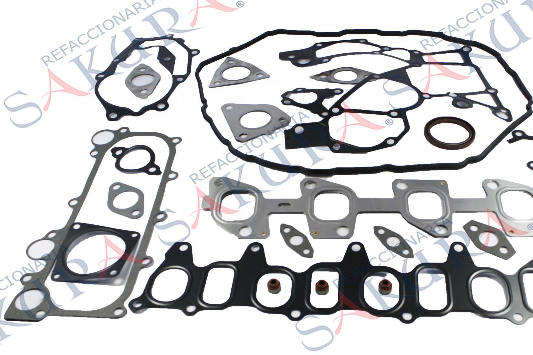 10101-VZ20A, Juego De Juntas De Motor  (Top Engine)