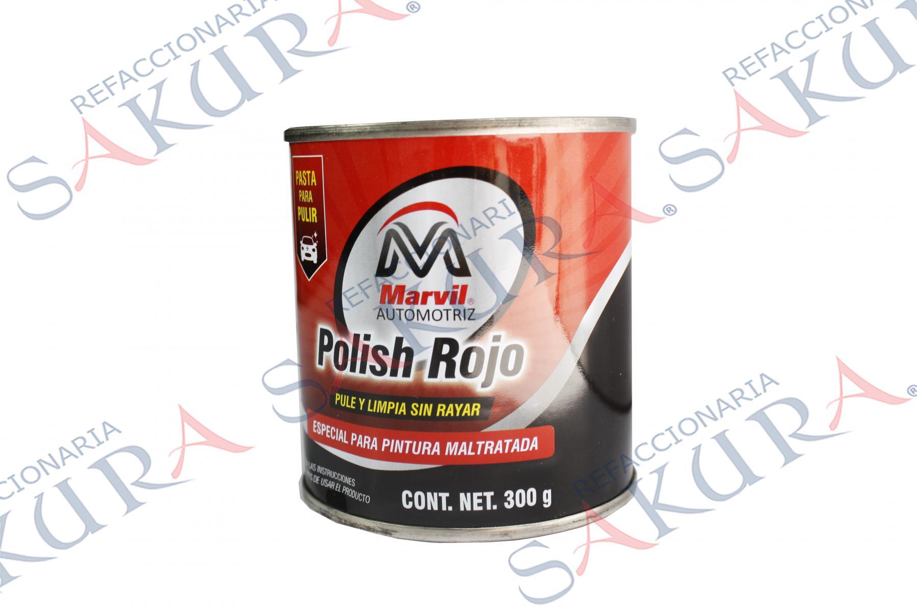 110218, Pasta Polish Rojo  (Marvil)