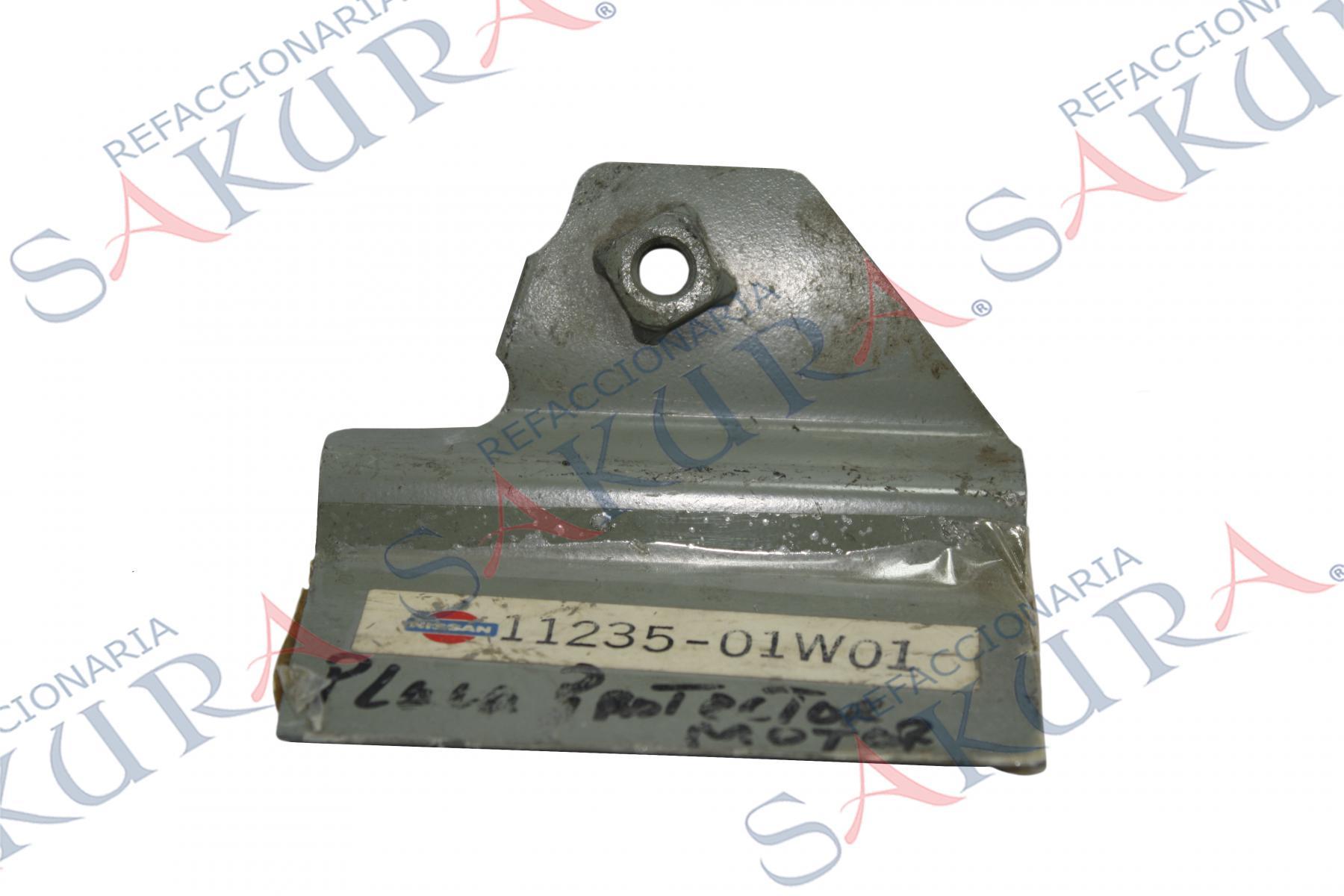 1123501W01, Placa Protectora de Motor  (Nissan)