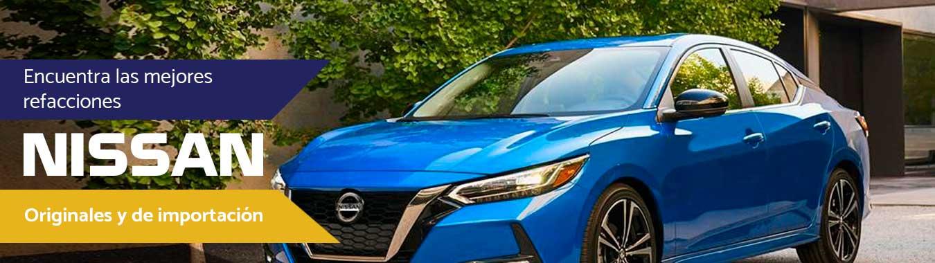 Refacciones Nissan de calidad